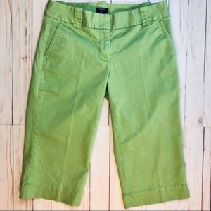 Favorite Fit Capris Green Pants By J. Crew